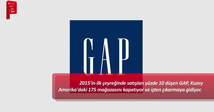 GAP, 175 mağazasını kapatıyor