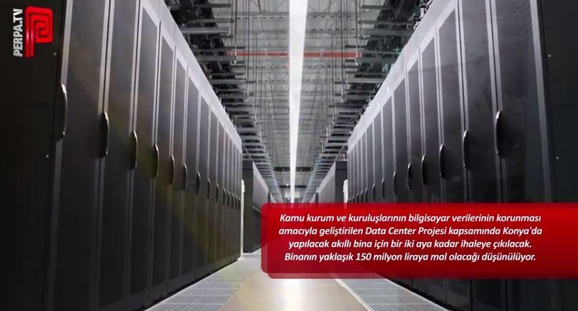 Konya'da data center kurulacak