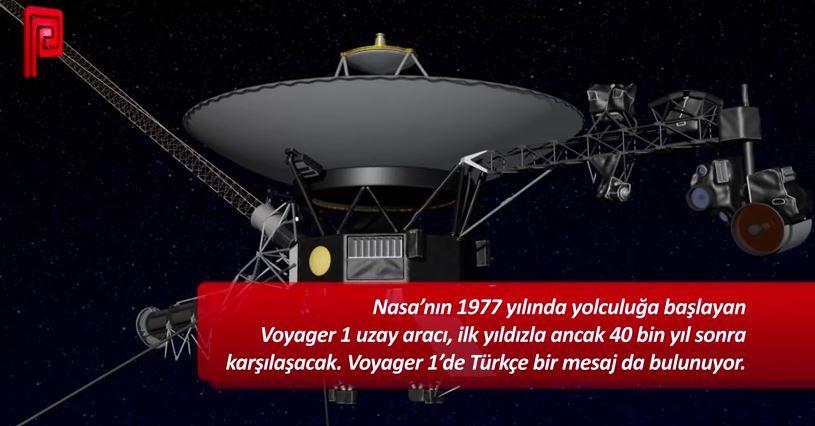 Uzaylılara Türkçe mesaj