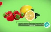Bir Kilo Limonda Bir Kilo Çilekten Daha Fazla Şeker Vardır