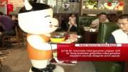 Robot Garsonlar Göreve Başladı