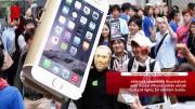 iPhone 6S almaya robotunu yolladı