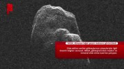 Dünyaya teğet geçen meteor görüntülendi