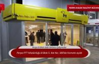 Perpa PTT Müdürlüğü açıldı