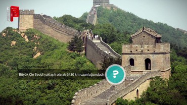 Çin Seddi kaç km?