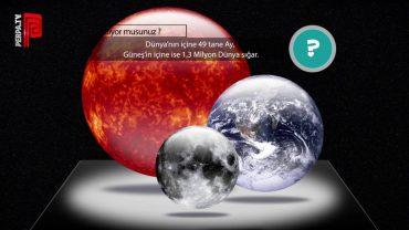 Dünya, Güneş ve Ay