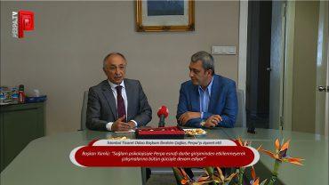 İTO Başkanı İbrahim Çağlar, Perpa'yı ziyaret etti