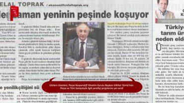 Perpa ve Başkan Mithat Yümlü Gözlem Gazetesi'nde