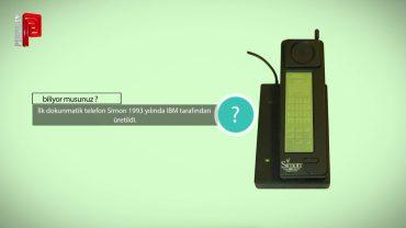 İlk dokunmatik telefon ne zaman üretildi?