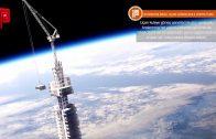 Asteroide Bağlı Uçan Gökdelenle Dünya Turu