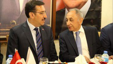 Gümrük ve Ticaret Bakanı Bülent Tüfenkci Perpa'da