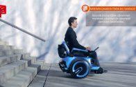 Merdiven Çıkabilen Tekerlekli Sandalye