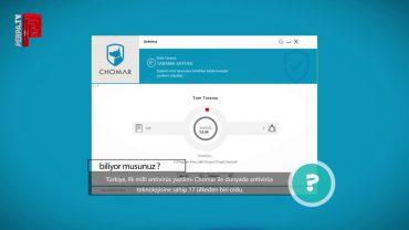 Türkiye'nin İlk Milli Antivirüs Yazılımı