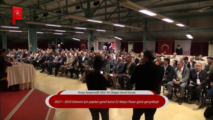 Perpa Kooperatifi 2016 Yılı Olağan Genel Kurulu