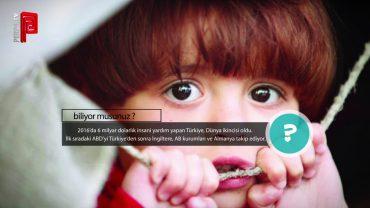 Türkiye İnsani Yardımda Türkiye İkincisi