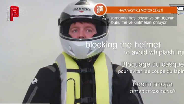 Hava Yastıklı Motor Ceketi Birçok Hayat Kurtarabilir