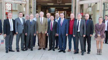 Şişli Belediye Başkanı Hayri İnönü Perpa Ziyareti