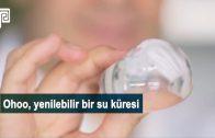 Plastik Şişe Yerine Yenebilir Su Küresi