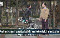 Her Yol ve Merdivende Rahatlıkla Kullanılabilir Mobil Tekerlekli Sandalye