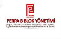 Perpa B Blok 2017 Yılına Hızlı Bakış