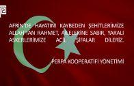 Afrin Taziye Mesajı