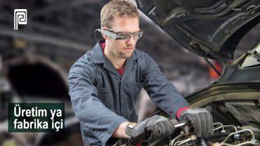 """Toshiba """"dynaEdge"""" Artırılmış Gerçeklik Gözlüğü"""