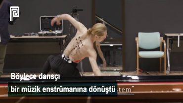 Dans Ederek, Vücuduyla Yapay Zekalı Piyano Çaldı