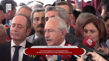 CHP Genel Başkanı Kemal Kılıçdaroğlu PERPA'da