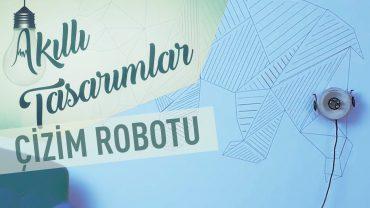 Duvara İstediğiniz Tasarımı Geçiren Çizim Robotu
