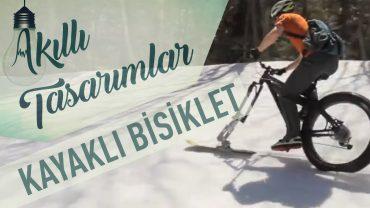 Kayaklı Kar Bisikleti
