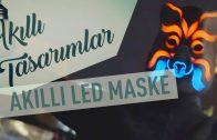 Müziğin Ritmiyle Uyumlu Led Işıklı Maske