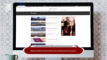 PERPA Kooperatifi Başkanı Mithat Yümlü Resmi İnternet Sitesi Yayında