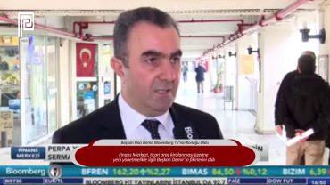 Başkan Hacı Demir Bloomberg TV'nin Konuğu Oldu