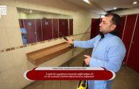 PERPA B Blok Tuvaletleri Dezenfekte Edildi