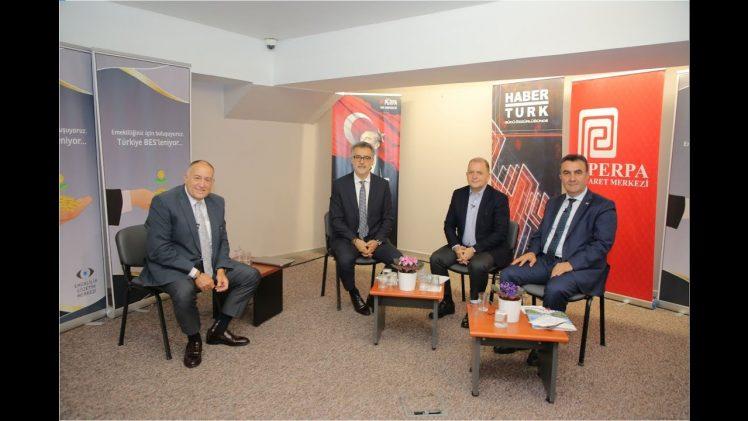 PERPA Kooperatifi Başkanı Hacı Demir HaberTürk TV'nin Konuğu