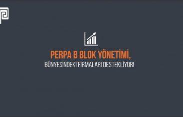 PERPA B Blok Firmalarına Ücretsiz Röportajlı Tanıtım Filmi Hakkı