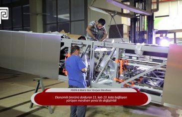 PERPA B Blok Yeni Yürüyen Merdiven Devrede