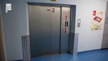 PERPA B Blok Yük Asansör Kenarlıkları