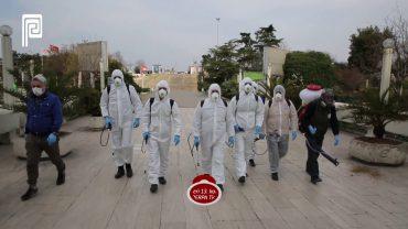 Şişli Belediyesi PERPA'yı Dezenfekte Etti