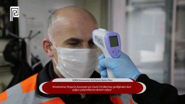 PERPA B Blok Koronavirüs Acil Durum Eylem Planı