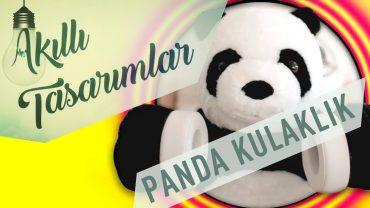 Eğlenceli Panda Kulaklık